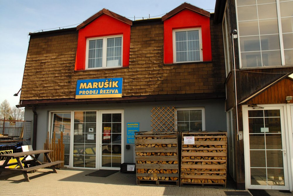 Marušík - prodej řeziva
