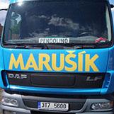 doprava nákladním vozem v Ostravě a okolí